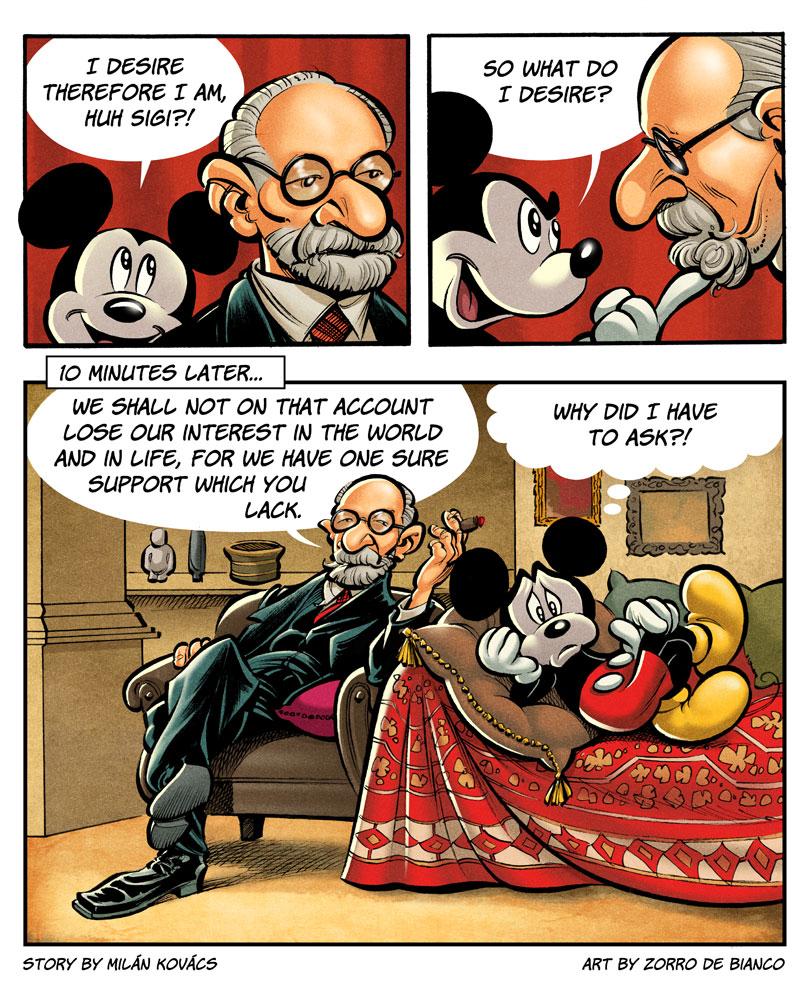 Mickey vs. Freud